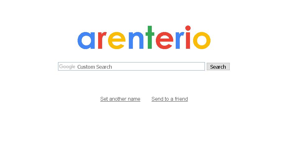 9. Funny Google arenteiro