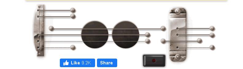 5. Google Guitar