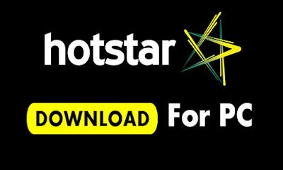 hotstar app download for pc