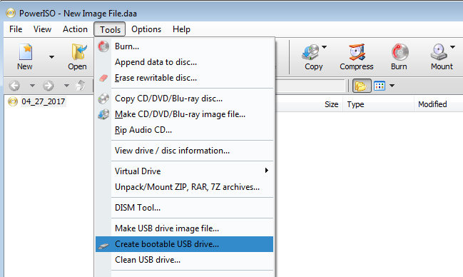 How to Create Bootable Pen drive/USB Bootable