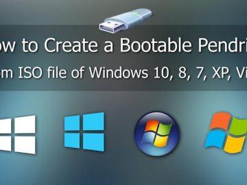 How to Create Bootable Pen drive windows 10,7,8/USB Bootable