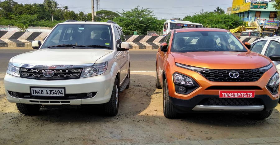 "techunz flap cars TATA:"" HARRIER"""