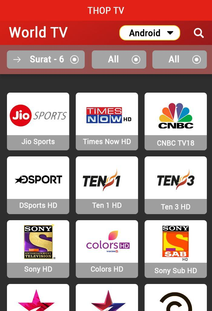 techunz thoptv app download for android