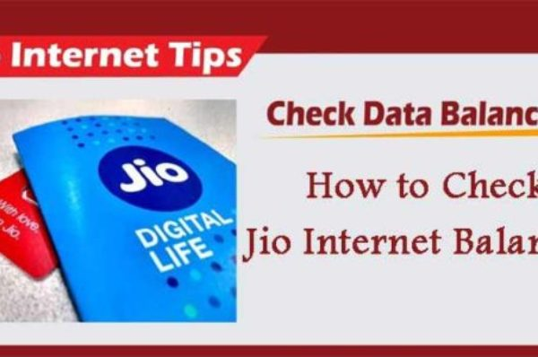 How To Check JIO Data Balance
