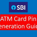 How to generate SBI ATM Pin through SMS?