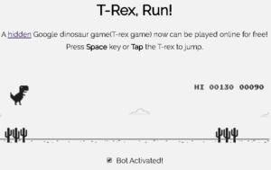 T-Rex Game