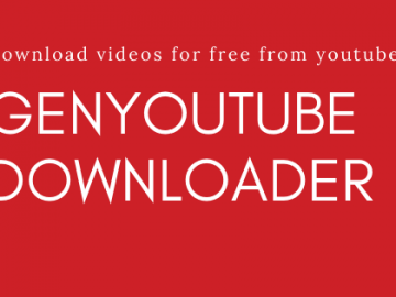 Genyoutube - YouTube Download free Extension