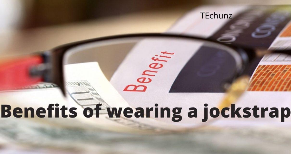 Benefits of wearing a jockstrap