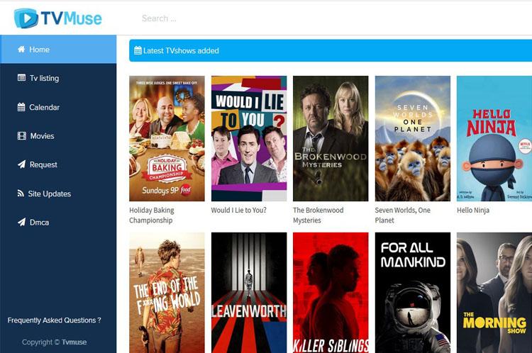 TVMUSE | Best Alternatives TV Muse | Tvlinks