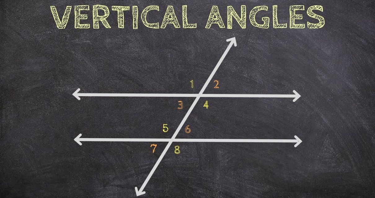 Vertical angles: An Integral Component of Geometry